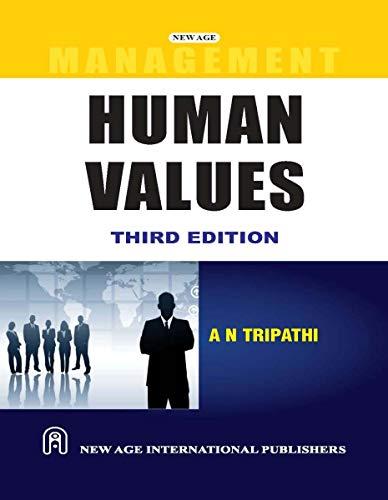 9788122425895: Human Values