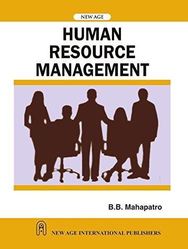 Human Resource Management: B.B. Mahapatro