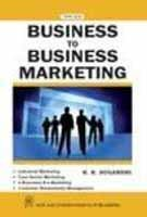 Business to Business Marketing: Sugandhi, R.K.