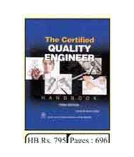 9788122427943: The Certified Quality Engineer Handbook (with CD-Rom)
