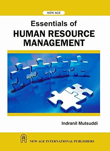 Essentials of Human Resource Management: Indranil Mutsuddi