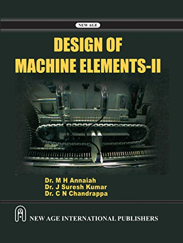9788122428384: Design of Machine Elements: II