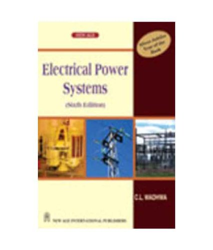 9788122428391: Electrical Power Systems 6th Editio