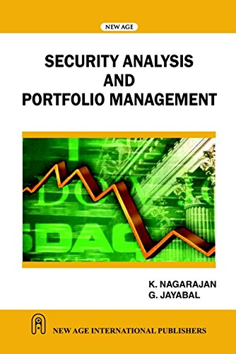 Security Analysis and Portfolio Management: G. Jayabal,K. Nagarajan