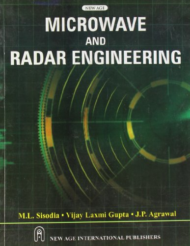 Microwave and Radar Engineering: M.L. Sisodia; Vijaylaxm
