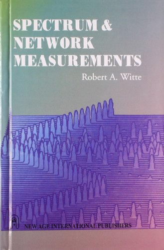 9788122430974: Spectrum & Network Measurements