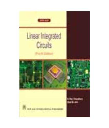 9788122430981 linear integrated circuits abebooks choudhury d rh abebooks com