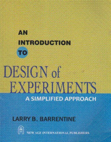 9788122431124: An Introduction to Design of Experiments: A Simplified Approach