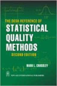 9788122431186: The Desk Reference of Statistical Quality Methods