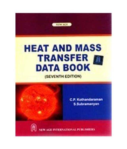 9788122431230: Heat and Mass Transfer Data Book
