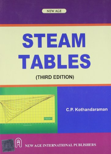 9788122432688: Steam Tables