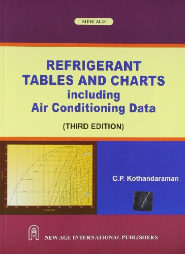 Refrigerant Tables and Charts including Air Conditioning: Kothandaraman C.P.