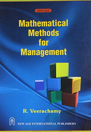 9788122433203: Mathematical Methods for Management