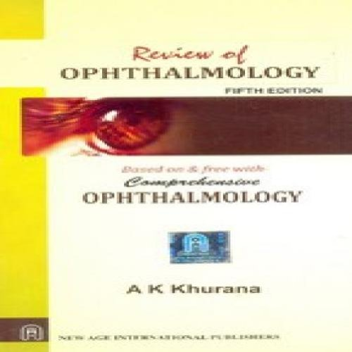 Khurana Ophthalmology 6th Edition Pdf