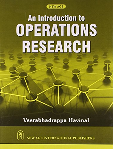 An Introduction to Operations Research: Havinal, Veerabhadrappa