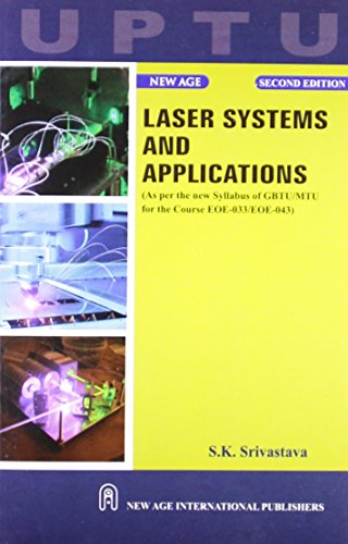 Laser Systems And Applications (Uptu), Second Edition: Srivastava, S.K.