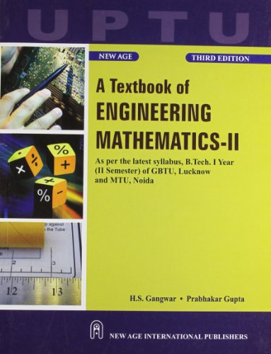 9788122434149: A Textbook of Engineering Mathematics-II (UPTU)