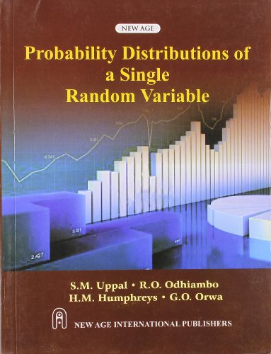 Probability Distributions Of A Single Random Variables,: Uppal, S.M.