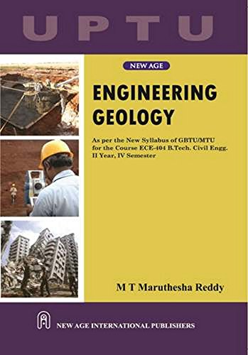 Engineering Geology (Uptu), First Edition: Reddy, M T