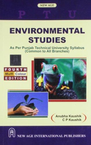 9788122436259: Environmental Studies (as Per Punjab Technical University Syllabus [PTU]