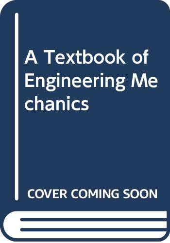 9788122436372: A Textbook of Engineering Mechanics
