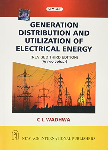 9788122438536: Generation Distribution and Utilization of Electrical Energy