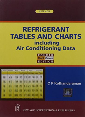Refrigerant Tables and Charts: including Air Conditioning Data (Fourth Edition): C.P. Kothandaraman