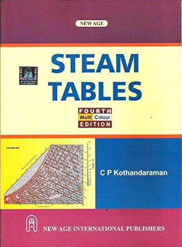 Steam Tables: Kothandaraman C.P.