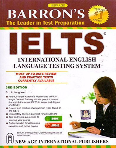 Barrons Ielts (International English Language Testing System),: Lougheed, Lin