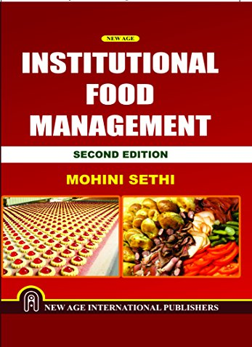 9788122439618: Institutional Food Management