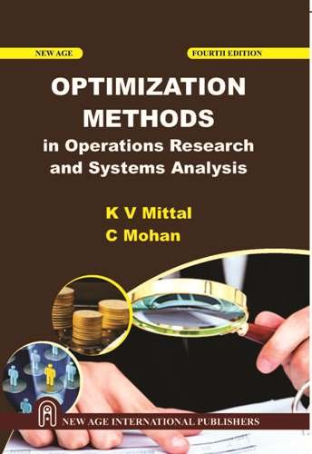 Optimization Methods In Operations Research And System: Mital, K.V.