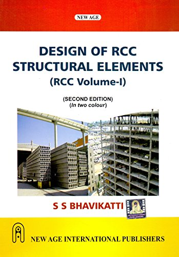 9788122440515: New Age Design of R.C.C. Structural Elements