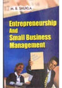 9788122502930: Enterpreneurship and Small Business Management