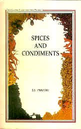 9788123722436: Spices And Condiments