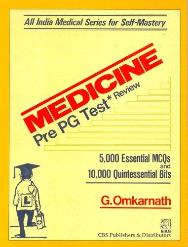Medicine Pre-PG Test Review: G. Omkarnath