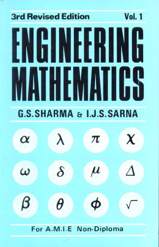 9788123901022: Engineering Mathematics for Non-Dip.