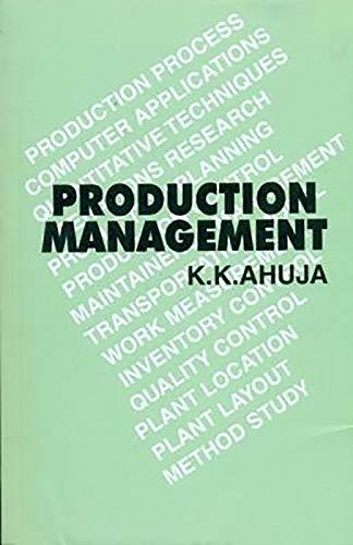 9788123901855: Production Management