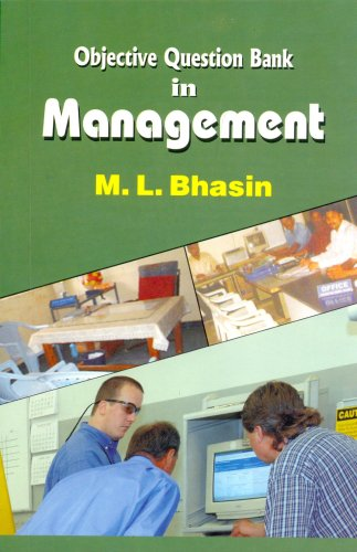 Objective Question Bank in Management (PB): Bhasin M.L.