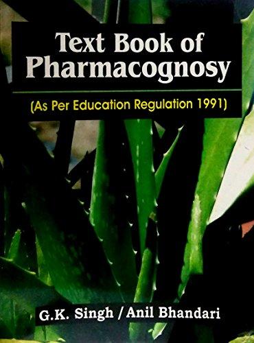 9788123906928: Textbook of Pharmacognosy: as Per Education Regulation