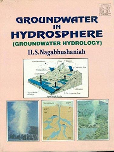 Groundwater in Hydrosphere: H.S. Nagabhushaniah