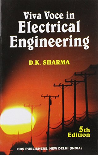 Viva Voce In Electrical Engineering, 5E (Pb-2015): Sharma D. K