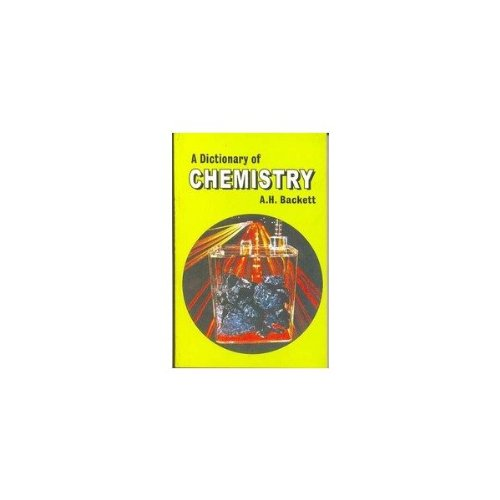9788123908977: Dictionary of Chemistry