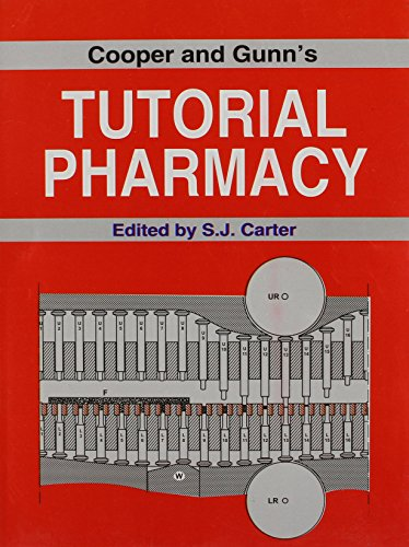 9788123909042: Cooper and Gunn's Tutorial Pharmacy