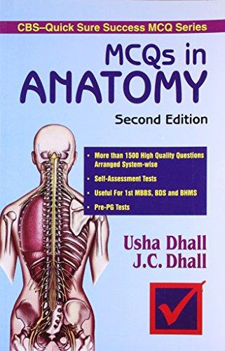 9788123909066: MCQs in Anatomy