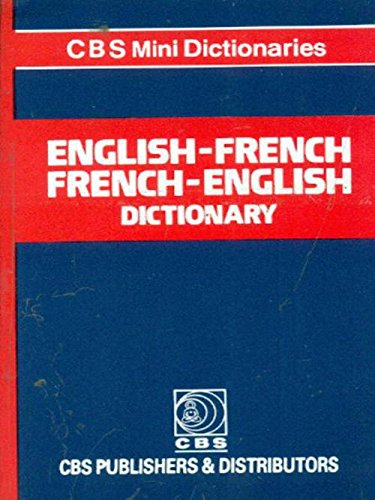 9788123910154: Mini English-French-French-English Dictionary