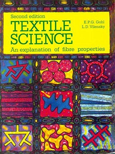 Textile Science 2ed (Pb 2005): Gohl