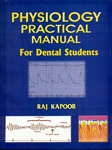 Physiology Practical Manual for Dental Students: Raj Kapoor