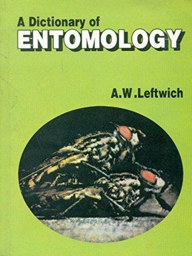 9788123911113: A Dictionary Of Entomology