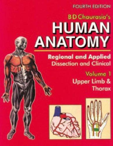 9788123911557: Human Anatomy: Regional & Applied, VOl.1: Upper Limb ...
