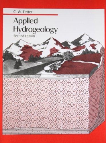 Applied Hydrogeology (Second Edition): C.W. Fetter